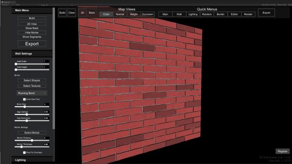 3D Wall Builder